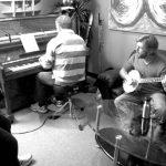 Old Man Luedecke singing Little Bird with The Barra MacNeils in Soundpark Studio.